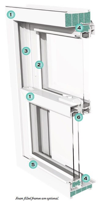 Platinum Double Hung